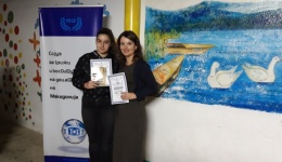 """Антониа Цветаноска од ОУ """"Гоце Делчев"""" ја освои наградата  за најуспешна поетска творба на фестивалот """"Детски лирски треперења"""""""