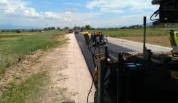 Рехабилитација и нов асфалт на патниот правец  Битола - Демир Хисар