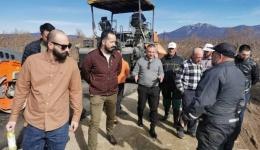 Центарот за развој на Пелагонискиот плански регион го спроведе проектот за реконструкција на локалниот пат Дрмени-Лавци
