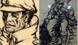 Објавена фото-монографија за партизанот и голем уметник на Февруарскиот поход