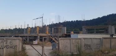 Се гради и вториот ред од северната трибина на битолскиот стадион