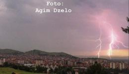 Јунско невреме со грмотевици во Битола