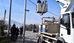 Штедливите ЛЕД светилки се поставуваат низ општина Новаци