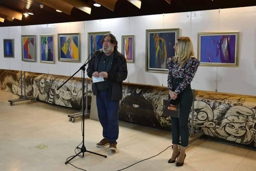 Импресивни дела на ликовниот уметник Драган Најденовски до 29 октомври поставени во Центар за култура Битола