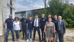 """Од Доброволното противпожарно друштво """"Архангел"""" доброволно ги исчистија Еврејските гробишта во Битола"""