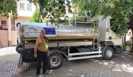 """""""Водовод"""" испрати цистерна со питка вода за старскиот дом """"Сју Рајдер"""""""