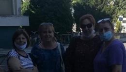 Успешно завршена мисијата на битолските медицински сестри во ковид центарот во Скопје, заминуваат три нови