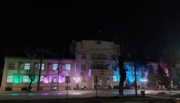 Во боите на лицата со ретки болести осветлена и општинската зграда во Битола