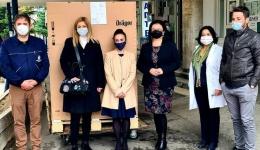 Два респиратори донираше Компанијата dm, од нив еден за Битолската болница