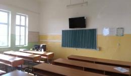 """Во Гимназијата """"Јосип Броз Тито"""" во Битола сите училници опремени со телевизори"""