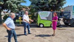 Набавени нови возила за машинско метење на улиците на електричен погон