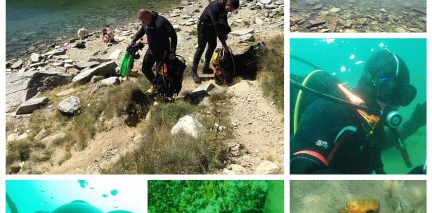 Вештачкото порибување го загрозува ендемското ракче во Големо Езеро , предупредуваат нуркачите