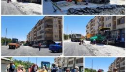 "Се асфалтира ""13 јули"", покриени 3950 метри квадратни кал"