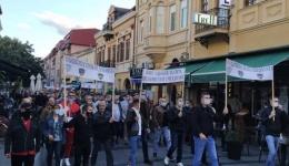 Протест за поддршка на полицијата- Полицаецот должен е да реагира, а не да се претвори во топовско месо