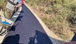 Општината го асфалтира патот до селото Острец